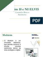 Comandos básicos do Multisim