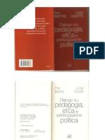 Dialogo Su Pedagogia Etica e Partecipazione Politica