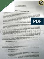"""documento recuperado desde feusach luego de una """"ocupacion momentanea"""" ,Feusach JJCC"""