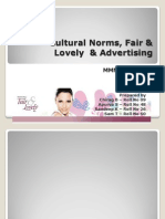 Cultural Norms, Fair & Lovely & Advertising Final