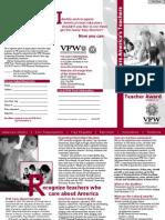 VFW Teacher Nomination Form