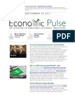 Economic Pulse - An Overview of Maryland's Economic Indicators