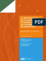 La Import an CIA de La Actividad Economica de Turismo y Viajes en Argentina