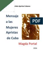 Magda Portal - Mensaje a Las Mujeres Apristas de Cuba (Magda Portal)