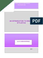 Nadia Morarasu - An Introduction to English Stylistics