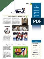 Boletin Palco Liga BBVA 1ª Edicion IMPRIMIR