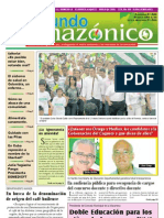 Periodico Mundo Amazonico Edicion No. 51 Abr-May / 2010