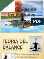 teoría del balance Equipo 1