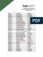 Programacion 1era Solemne ICG-AUD