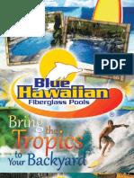 Blue Hawaiian Fiberglass Pools 2011 Catalog