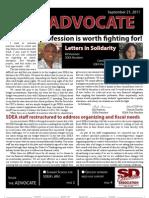September 2011 Advocate