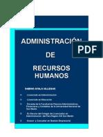 Ayala Villegas - Admin is Trac Ion de Recursos Humanos