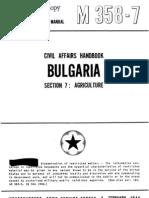 Civil Affairs Handbook Bulgaria Section 7