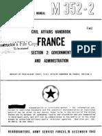 Civil Affairs Handbook France Section 2