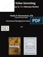 Active Value Investing Presentation by Vitaliy Katsenelson March 2011