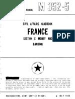 Civil Affairs Handbook France Section 5