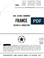Civil Affairs Handbook France Section 7A