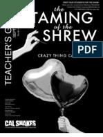 Taming of the Shrew Teacher's Guide
