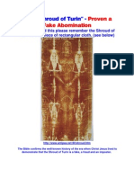 Shroud of Turin Biblically Debunked