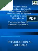 Programa Nacional de Reanimación Neonatal