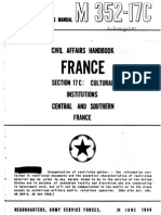 Civil Affairs Handbook France Section 17C