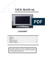 LCD32V8SY Service Manual1.0