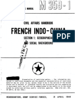 Civil Affairs Handbook French Indochina Section 1