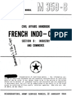 Civil Affairs Handbook French Indochina Section 8