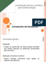 Instrumentação técnico cientifica para biotecnologia