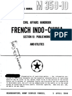 Civil Affairs Handbook French Indochina Section 10