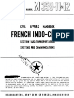 Civil Affairs Handbook French Indochina Section 11 and 12