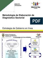 Metodología de Elaboración de Diagnóstico Sectorial