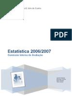 CIA Estatística 2006-2007 Versão 2