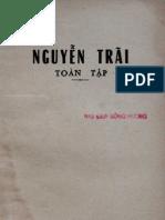 Nguyen Trai Toan Tap