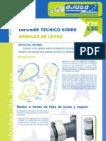 Arboles de Levas Informe Tecnico