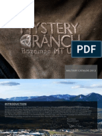 2012 Mystery Ranch Military Catalog