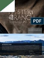 2012 Mystery Ranch Military Catalog