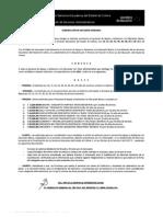 Convocatoria para Estimulos por Años de Servicio para el Personal de Apoyo a la Educación 2011-2012