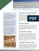 Eurocode 6 Vertical Resistance 8-7-10