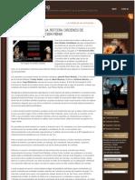 JUSTICIA ECUATORIANA REITERA ORDENES DE CAPTURA POR OPERACIÓN FÉNIX