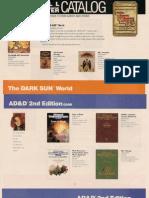 1991 Fall-Winter TSR Catalog