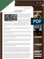 EL EJÉRCITO NACIONAL DE COLOMBIA, NI DESMORALIZADO, NI DESCONFIADO
