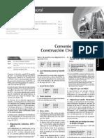 Convenio Colectivo de Construccion Civil 2011 - 2012