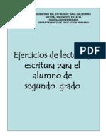 Ejercicios de Lectura y Escritura Para El Alumno de Segu (1)