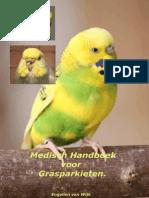 Flyer Medisch Handboek Grasparkieten