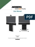 Videoconferencing Tandberg Profile 6000 Mxp User Manual