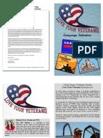 20110812 Love Your Veterans - Info Pamphlet
