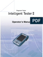 Toyota Tester 2 Scanner Manual