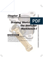 Catia v5r13 Designer Guide Chapter1-Drawing Sketches in the Sketcher