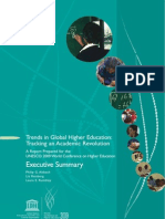Altbach et al 2009, Trends in Global Higher Education (Executive Summary)